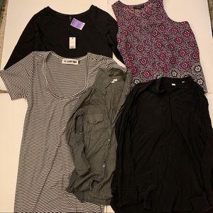 Bundle of 5 Size Medium Shirts